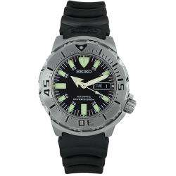 Seiko Mens Automatic Rubber Strap Watch