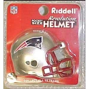 New England Patriots NFL Pocket Pro Single Football Helmet
