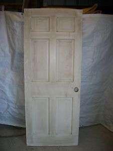 Antique Solid Wood 6 panel Door