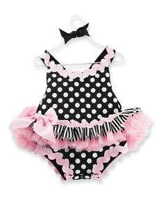 Baby Girl Bubble Romper 718540108116