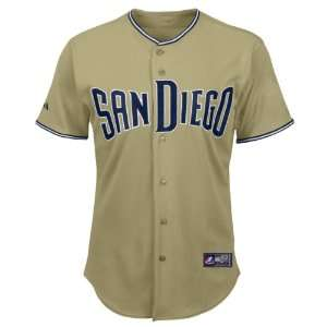 San Diego Padres Replica Road MLB Baseball Jersey (Khaki) Sports