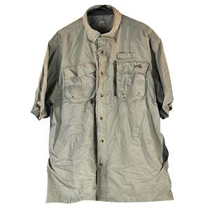 Natural Gear River Shirt   Mens XL   Fog. Click to enlarge