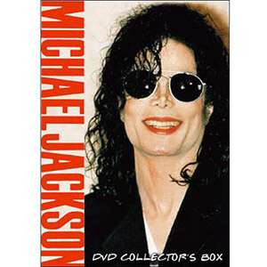Michael Jackson DVD Collectors Box Movies
