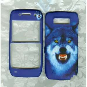 wolf blue nokia e71 e71x Straight Talk phone cover case