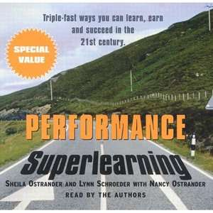 Performance Superlearning, Ostrander, Sheila: ARCHIVE