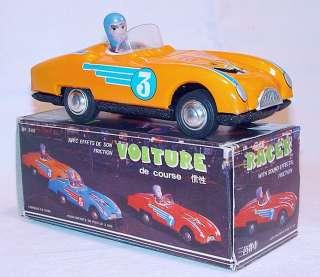 MARTIN Sports Race Car Orange Version Tin Friction MIB`80