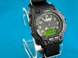 TIMEX MENS DUAL TECH UPDATED IRONMAN 200M CHRONO SHOCK WATCH WITH G 10