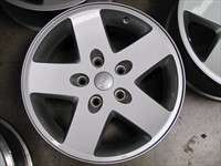 07 10 Jeep Wrangler Factory 17 Wheels Sahara OEM Rims