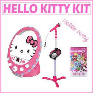 Kitty 66209 Disco Party CDG Karaoke + Microphone Stand w/ Microphone