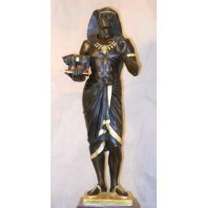 Bronze Egyptian Priest Pharaoh Picault   Limited Edition