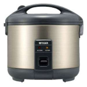 Tiger Electronic rice cooker and warmer JNP 100 S/S