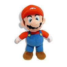 Super Mario 6 inch Plush Figure   Mario   Goldie International   Toys