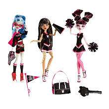 Exclusive Monster High Ghoul Spirit Fearleading Doll 3 Pack