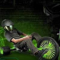 spin master the green machine and perform heart pounding 180 degree