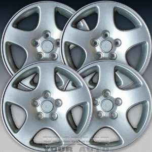1996 2004 Audi A4 16x7 Factory Replacement Sparkle Silver Wheel Set of
