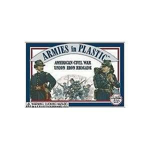 American Civil War Union Iron Brigade (20) 1/32 Armies in Plastic