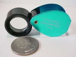 10X POWER JEWLERS LOUPE MAGNIFIER MAGNIFING GLASS NEW