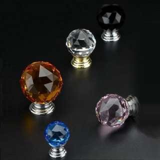 High Quality K9 Crystal Cabinet Knobs Knob Drawer Knobs knob Mini door