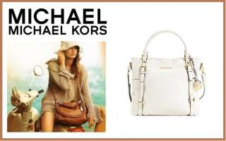 MICHAEL Michael Kors Handbag, Bedford Large Tote Vanilla,Shoulder Bag
