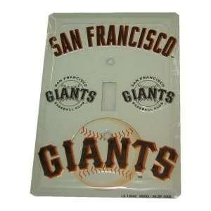 2 San Francisco Giants Light Switch Plates