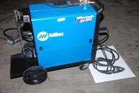 TESTED] BEAUTIFUL MILLER MILLERMATIC 251 MIG WELDER SINGLE PHASE INV