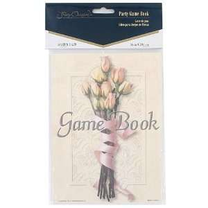 24 Packs of floral bouquet party game book
