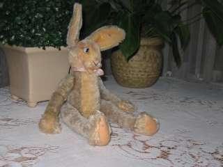 Antique STEIFF 1950s Lulac Floppy Rabbit Mohair