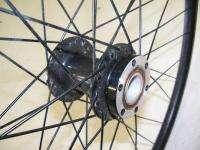 FRONT BLACK 26 MOUNTAIN BICYCLE RIM/DISC BRAKE COMPATIBLE BIKE PARTS