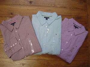 New NWT TOMMY HILFIGER Women LS Dress Shirt Button XXL