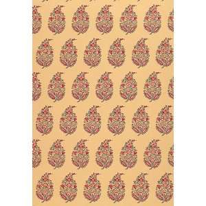 Rajasthan Paisley Jewel by F Schumacher Wallpaper Home Improvement