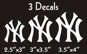 New York Yankees Logos** Vinyl Decal Stickers #36