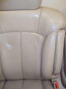 Cadillac Escalade Tahoe Yukon Suburban Tan Shale Leather Front Seats