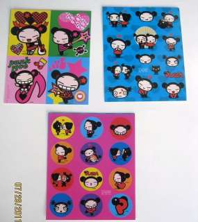 PUCCA GARU STICKERS Party Favors Treats Loots Birthday