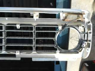 TRUCK PICKUP F100 F150 F250 F350 ALUMINUM GRILLE AND SHELL 73 75 76 77