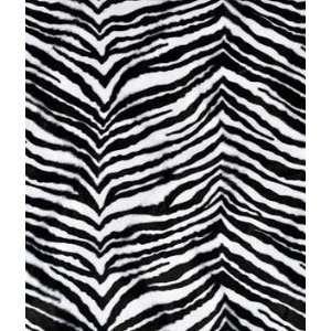 Medium Zebra Velboa Faux Fur Fabric: Arts, Crafts & Sewing