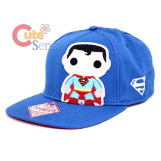 Funko Superman Pop Heroes Snapback Flat Bill Cap Baby Super Man