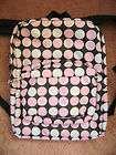 Women/Girls Pink & White Polka Dot BACKPACK