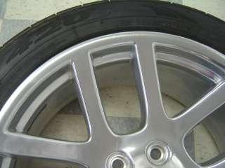 04 06 Dodge Ram 1500 SRT 10 OEM 22x10 Wheels Tires Polished |