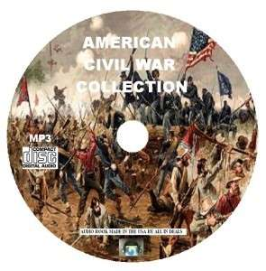 AMERICAN CIVIL WAR COLLECTION NEW  AUDIO BOOK CD |