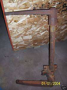 allis chalmers wd rocker shaft snap coupler 2 point arm
