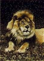 5x8 African Safari Lion Animal Black Decor Area Rug