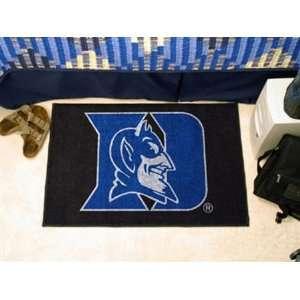Duke University Blue Devils Door/Bed Mat 20x30 Rug Logo