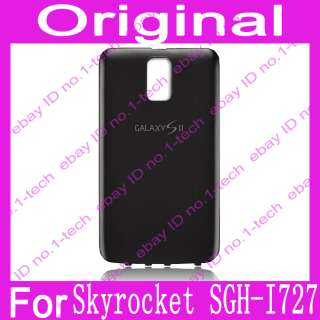 Door Battery Cover Case Samsung Galaxy S II 2 Skyrocket SGH I727 Black