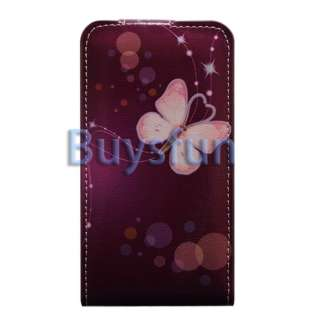 Flip Vertical Leather Cover Case For Samsung Galaxy S2 i9100