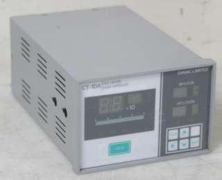 Diavac CT 1DA Cold Cathode Gauge Controller