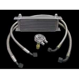 Aluminum Universal 13 Row Oil Cooler Kit High Performance Automotive