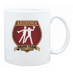 Arizona Drink Team Sign   Drunks Shield  Mug State