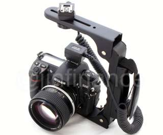 TTL Cord Flash Bracket for SONY HVL 58AM a200 a900 a700