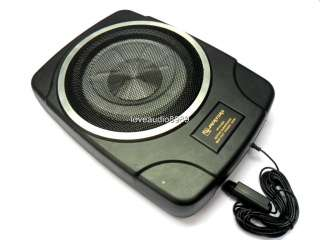 Slim 10 Active Subwoofer Amplifier Sub For Car Player