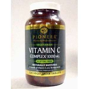 Pioneer   Vitamin C Complex 1000 mg 120 vtabs Health
